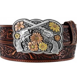 Tony Lama Belts Adult - Bandit Queen Belt Brown
