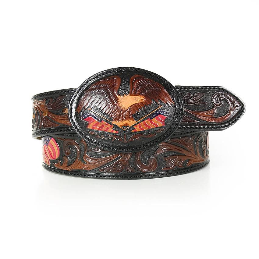 Tony Lama Belts Adult - American Heritage Silver Creek Belt