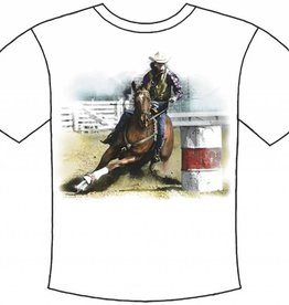 WEX Barrel Racing T-Shirt - Reg $19.95 now 40% OFF