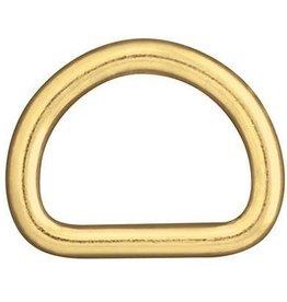 Weaver Welded Dee (d-ring) Brass
