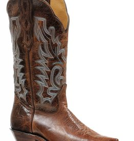 Boulet Western Women's Boulet Brown Western Boot (Reg. $259.95 NOW 25% OFF)