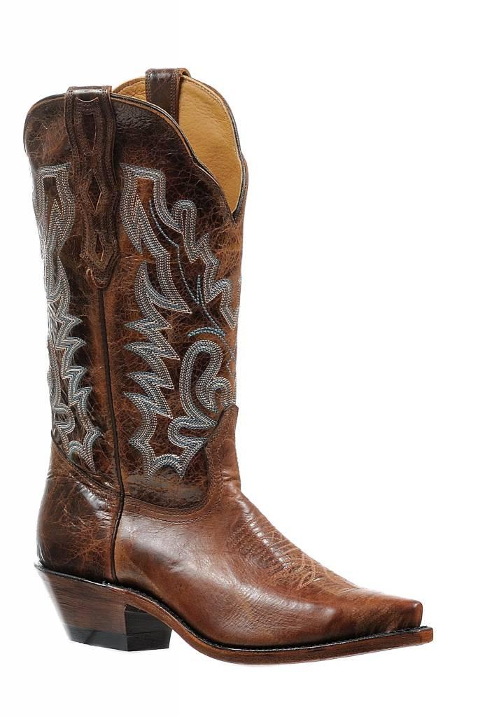 Boulet Western Women's Boulet Brown Western Boot (Reg. $259.95 NOW 25% OFF)