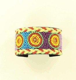 M & F Bracelet - Beaded Cuff