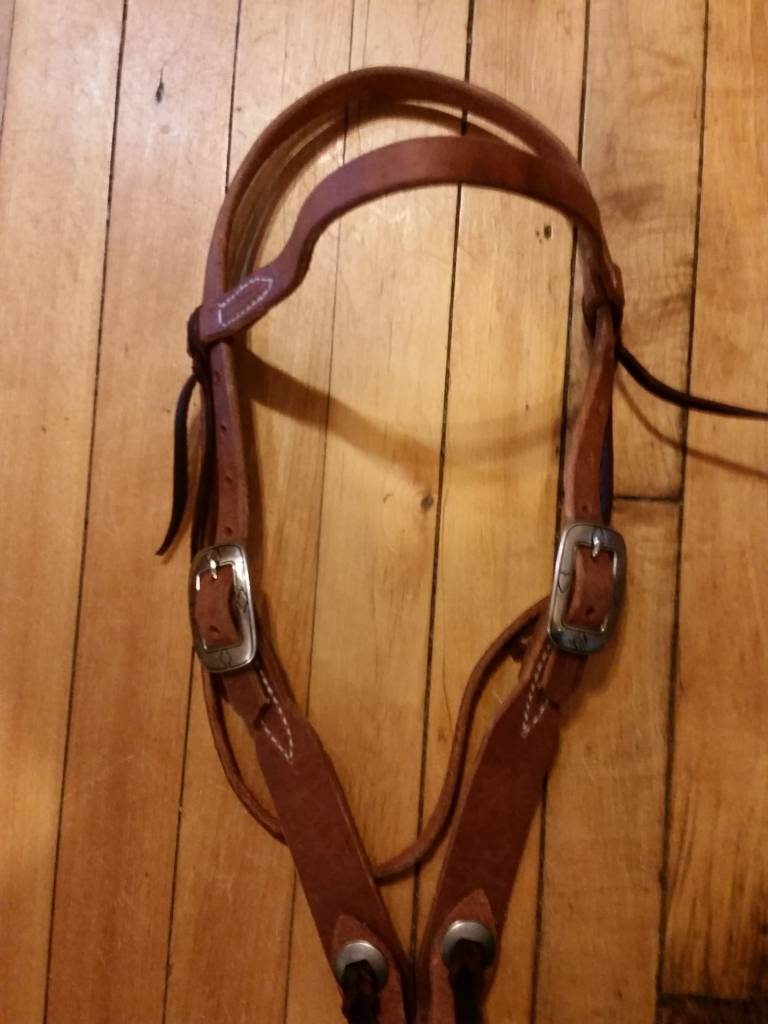 Circle L Hermann Oak Browband Headstall