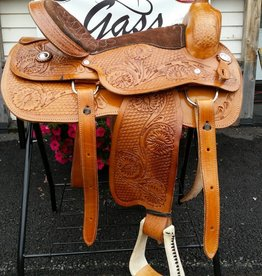 "Lamprey 17"" FQHB Western Pleasure Saddle - Reg $525 NOW $50 OFF!"