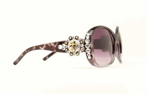 Sunglasses - Berry Cross Black