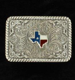 Nocona Belt Buckle  - Rectangle Texas