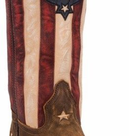 Laredo Women's Laredo Tan Stars & Stripes Western Boot (Reg. $159.95 NOW 25% OFF)