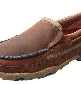 Twisted X Women's Twisted X Slip-On Driving Moccasins - Blue (Reg. $107.95 now 15% OFF!)