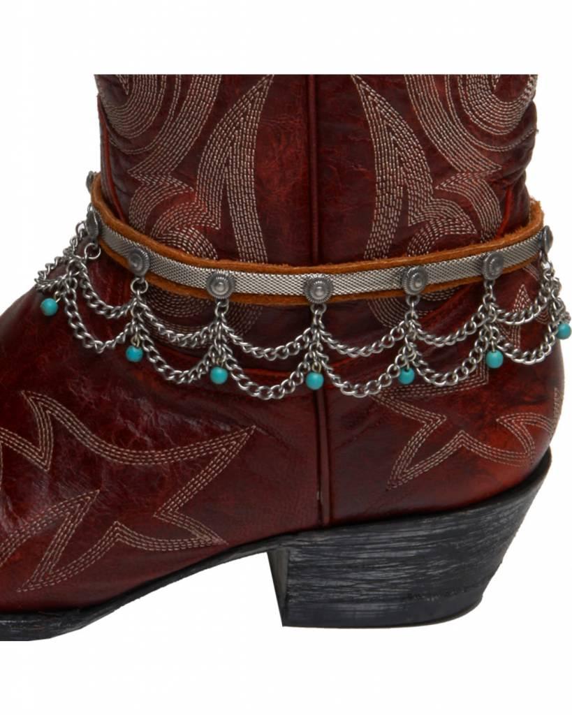 Boot Bracelet - Desert Drop, Turquoise