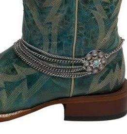 Boot Bracelet - Through Thick & Thin, Conchos
