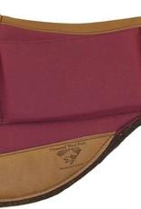 "Diamond Wool Endurance-Round Contoured Relief Pad -  Burgandy 33""x28""x1"""