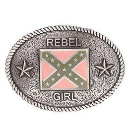 Nocona Belt Buckle - Rebel Girl