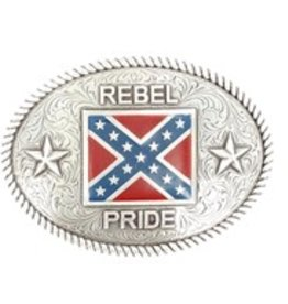 Nocona Belt Buckle - Rebel Pride