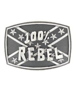 Nocona Belt Buckle - 100% Rebel