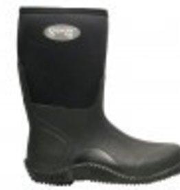 """AGS Footwear Superior 16"""" Black Neoprene Mud Boot"""