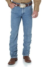 Wrangler Men's Wrangler Premium Performance Advanced Comfort Cowboy Cut Regular Fit Jeans - Stone Bleach