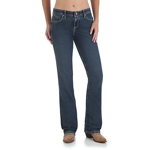 d7a4db2b Wrangler Women's Wrangler Cowgirl Cut Ultimate Riding Jeans - Q-Baby with  Booty Up Technology ...