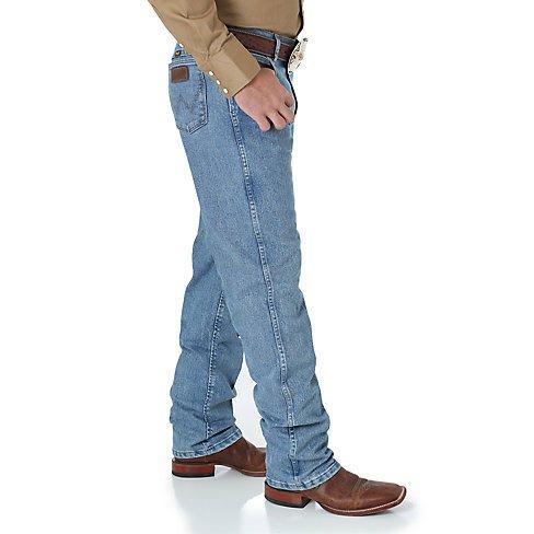 334adc85 ... Wrangler Men's Wrangler Premium Performance Advanced Comfort Cowboy Cut  Regular Fit Jeans - Stone Bleach