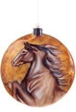 Ornament - Disc Horse Bust