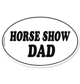 "GT Reid Decal - ""Horse Show Dad"" Euro Style"
