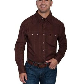 Scully Leather Men's Scully Tone on Tone Shirt XXL (Reg $65.95 now 25% Off)