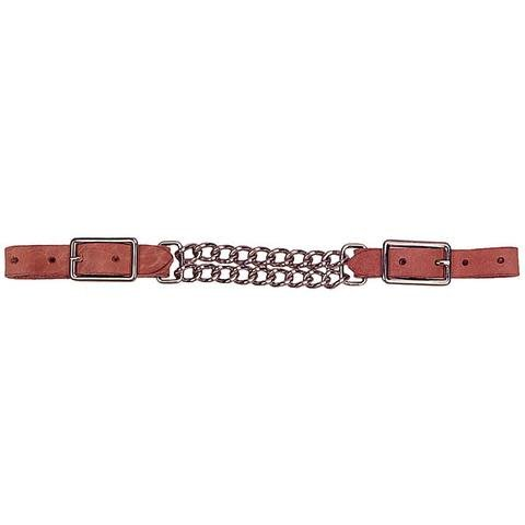 Circle L Curb Chain - Circle L Leather Double - Assorted Oil