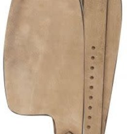 Showman Smooth Leather Replacement Western Fenders