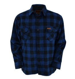 Outback Men's Outback Fleece Big Shirt - Blue (Reg Price $64.95 NOW $20 OFF!)