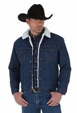 Wrangler Men's Wrangler Sherpa Lined Denim Jacket, Pre-Washed