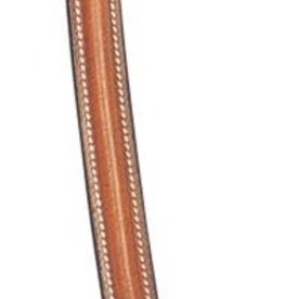 Replacement Part - Raised Padded Browband, Teak Pony