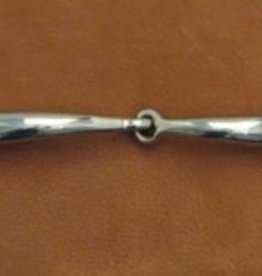 """Smith Worthington Snaffle - Curved Mouth, Loose Ring - 5 1/2"""""""