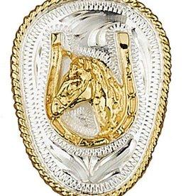 WEX Bolo Tie - Horsehead & Horseshoe