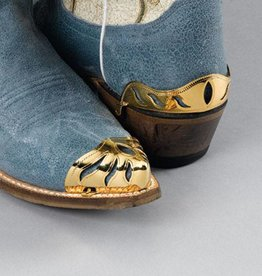 WEX Boot Toe Tips - Brass Color