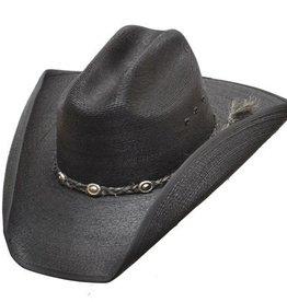 WEX WEX Cattleman Straw Hat Black (Assorted)