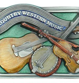 WEX Belt Buckle - Country Western Music