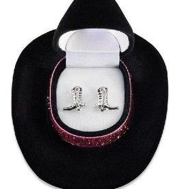 WEX Earrings - Cowboy Boot