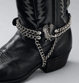 WEX Boot Chain - Eagle on Side