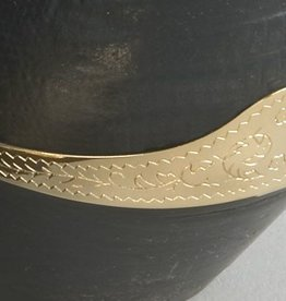 WEX Boot Heel Guard - Engraved Brass