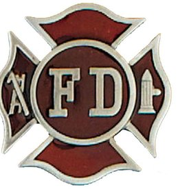 "WEX Belt Buckle - Firefighter FD 2"" x 2"""