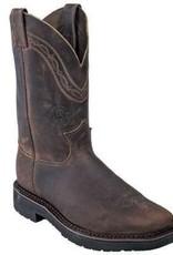 Justin Work Boots Men's Justin J-Max Crazyhorse Steel Toe - (Reg $215.95 now 20% OFF!)