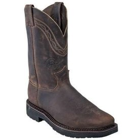 Justin Work Boots Men's Justin J-Max Crazyhorse Steel Toe - (Reg $215.95 now 20% OFF!)