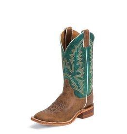Justin Western Women's Justin Burnished Tan Bent Rail Boots (Reg $199.95 NOW 25% OFF!)