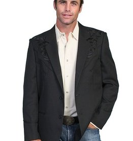 Scully Leather Men's Scully Embroidered Blazers
