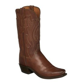 Lucchese Bootmaker Men's Lucchese Tan Ranch Western Boots (Reg $335.95 NOW $60 OFF!)