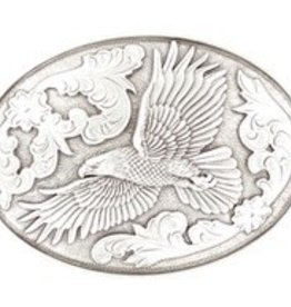 Nocona Belt Buckle - Nocona Eagle Oval