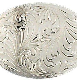 WEX Belt Buckle - Oval Silver