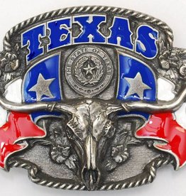 WEX Belt Buckle - Texas Steerhead