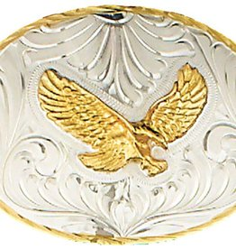 WEX Belt Buckle - German Silver