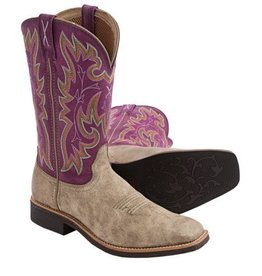 Twisted X Women's Twisted X Top Hand Boots Dusty/Purple (REG $149.95 NOW 30% OFF)